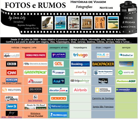 Fotos e Rumos - 1a página